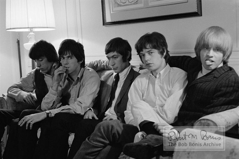 Rolling Stones, New York Hotel Lobby, 1965 #1