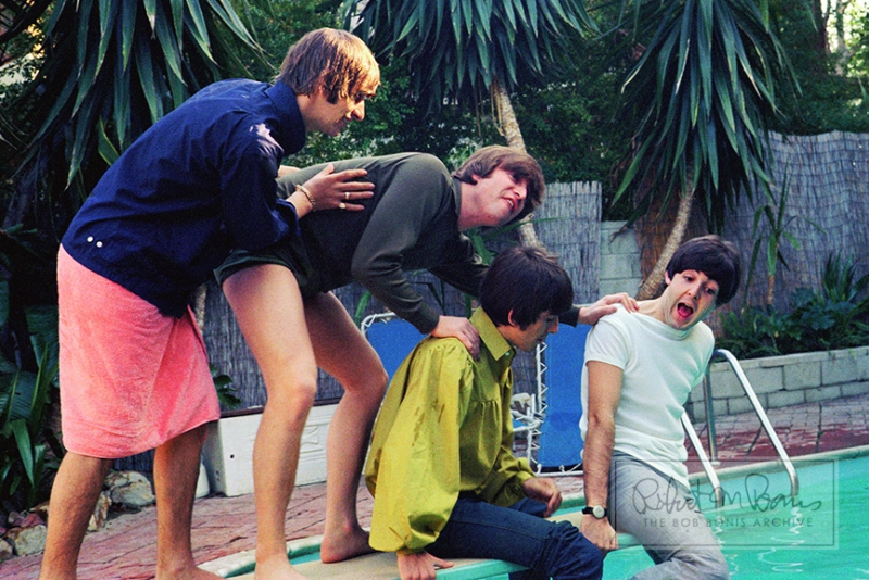 THE BEATLES IN BEL AIR, CALIFORNIA, AUGUST 23-24, 1964 #7