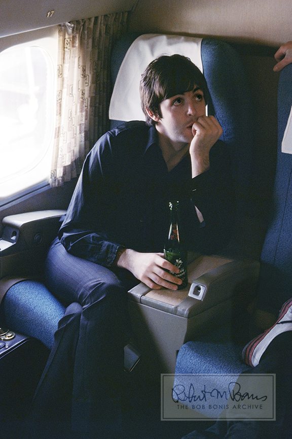 Paul McCartney, En Route to St. Louis, Missouri, August 21, 1966 #1