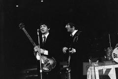 Paul McCartney and John Lennon On Stage, Sam Houston Coliseum, Houston, Texas, August 18, 1965 #1