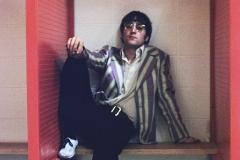 John Lennon in the Club House, Busch Memorial Stadium, St. Louis, Missouri, August 21, 1966 #1