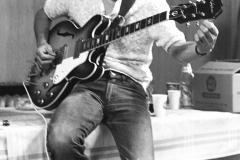 George Harrison, Backstage, JFK Stadium, Philadelphia, PA, August 16, 1966 #1