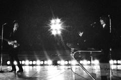 George Harrison, John Lennon and Paul McCartney, Metropolitan Stadium, Bloomington, MN, August 21, 1965 #11