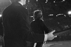 Paul McCartney and George Harrison, Metropolitan Stadium, Bloomington, MN, August 21, 1965 #2