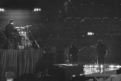 The Beatles from Behind the Stage, Metropolitan Stadium, Bloomington, MN, August 21, 1965