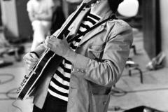 Keith Richards, Brian Jones, Ian Stewart, RCA Studios, Hollywood, California, September 1965