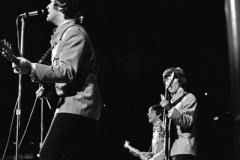 John Lennon, Paul McCartney, George Harrison, Memorial Coliseum, Portland, OR, August 22, 1965 #1