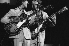 George Harrison, John Lennon, Olympia Stadium, Detroit, MI, August 13, 1966 #1