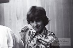 George Harrison, Backstage, Olympia Stadium, Detroit, MI, August 13, 1966