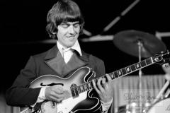 George Harrison On Stage, Mid-South Coliseum, Memphis, TN, August 19, 1966 #1