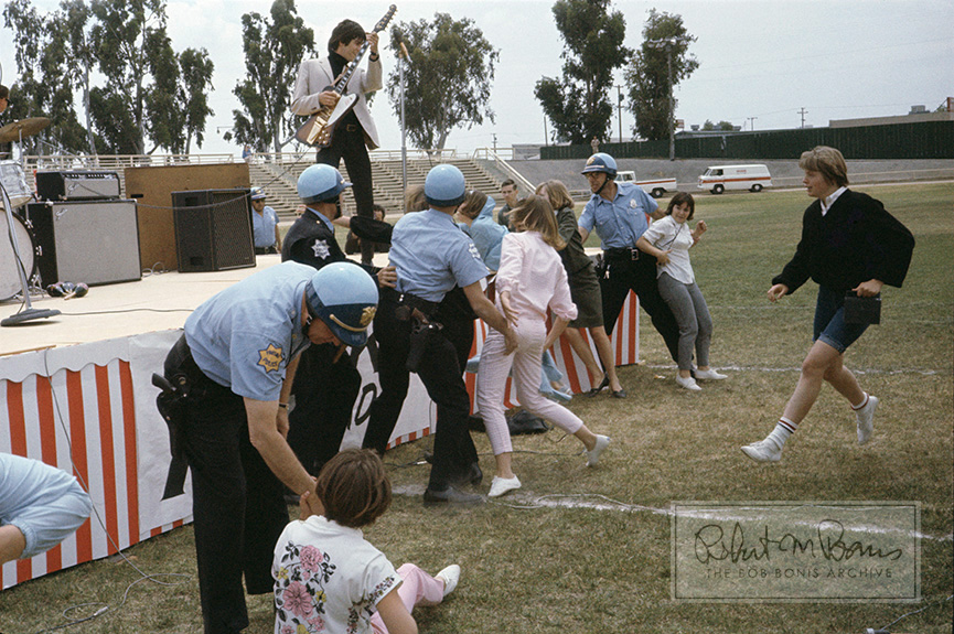 Keith Richards, Rolling Stones Riot, Fresno, CA, May 22, 1965 #1