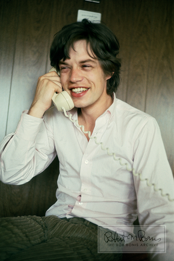 Mick Jagger on the Phone, 1965 #1