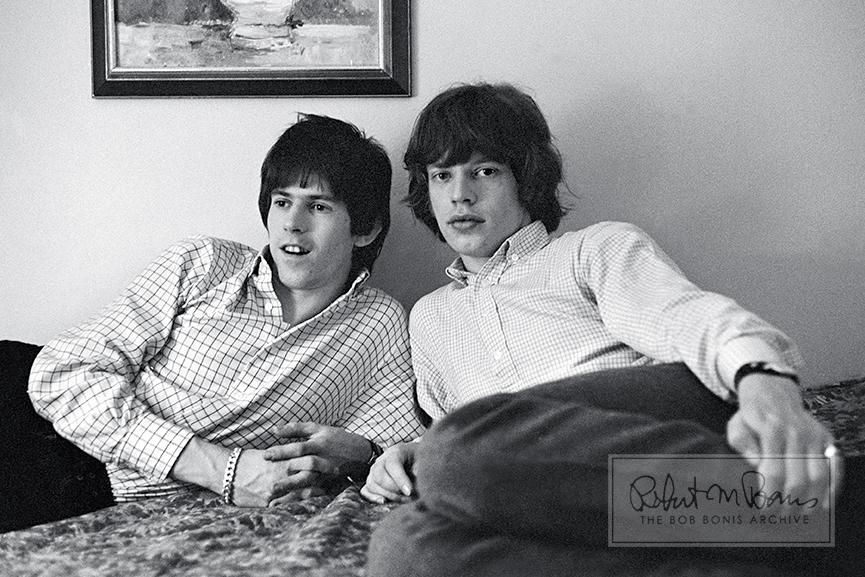 Mick Jagger and Keith Richards, California, May 20, 1965 #1