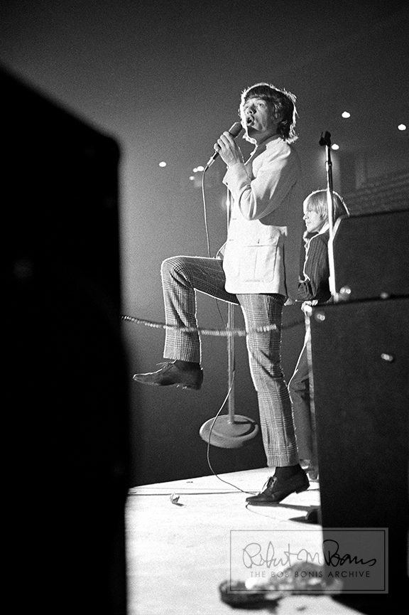 Mick Jagger and Brian Jones on Stage, In Action, 1964 #1