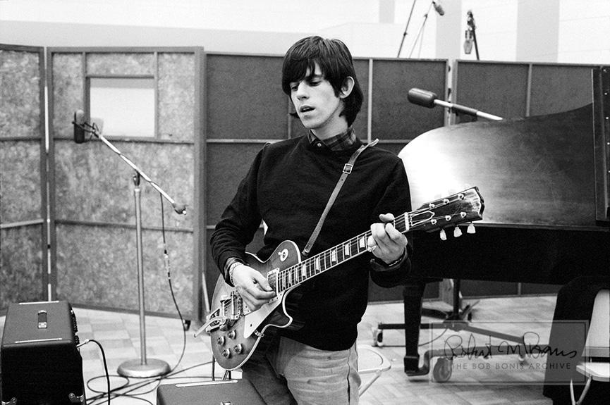 Keith Richards at RCA Studios, Hollywood, CA, May 12-13, 1965 #1