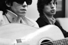 Mick Jagger and Keith Richards with Harmony 12-string Guitar, 1965 #2