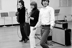 Mick Jagger, Brian Jones, Bill Wyman, Shindig Rehearsal, RCA Studios, May 18-19, 1965 #1