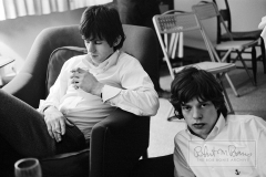 Mick Jagger and Keith Richards, Chicago, IL, November 10, 1964 #1