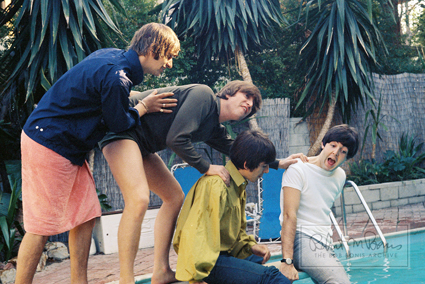 The Beatles In Bel Air, California, August 23-24, 1964 #7