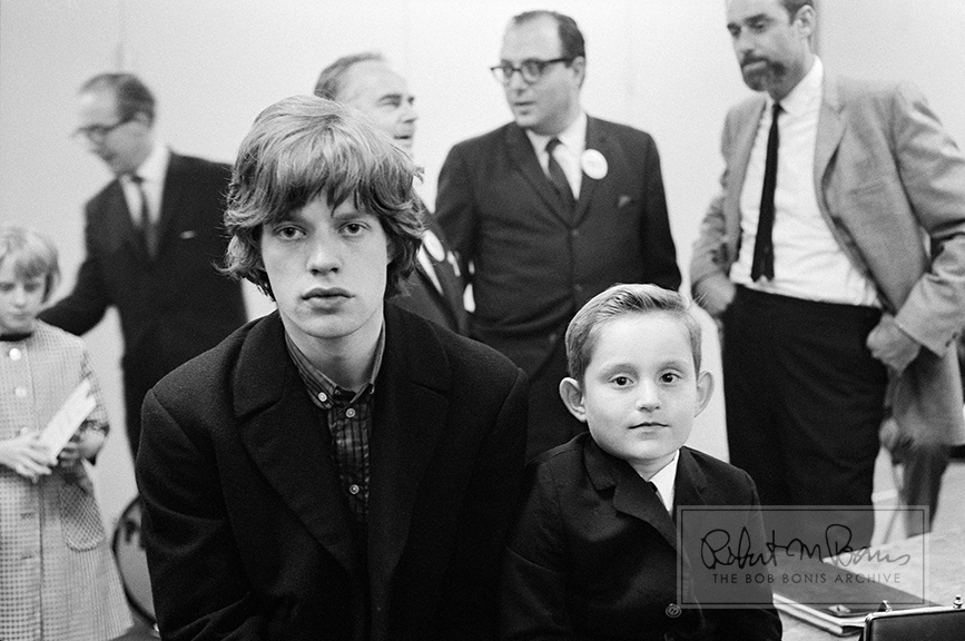 Mick Jagger with Young Fan, Santa Monica, October 29, 1964