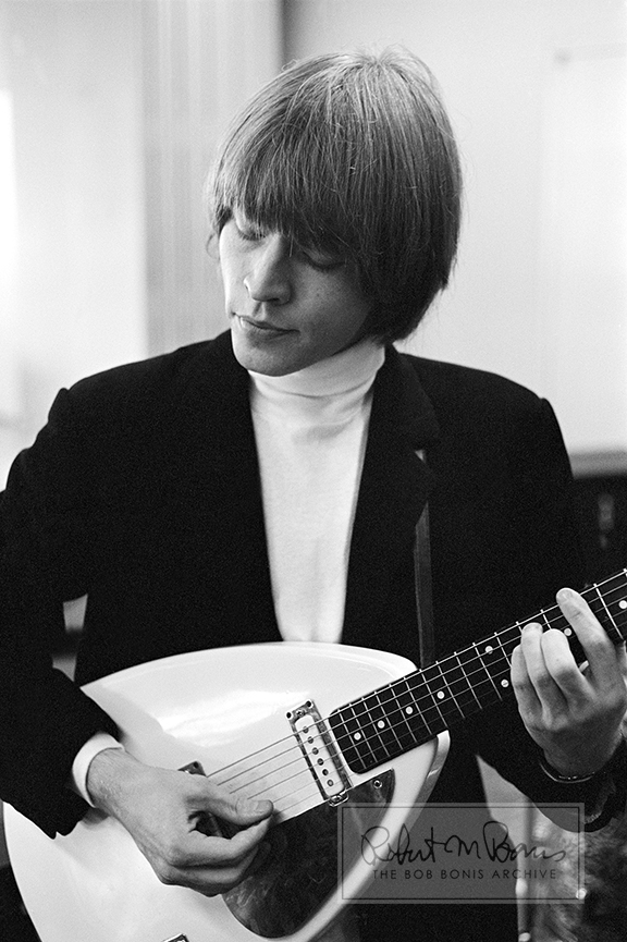 Brian Jones with Vox Teardrop Guitar, T.A.M.I. Show, Santa Monica, California, October 29, 1964 #1