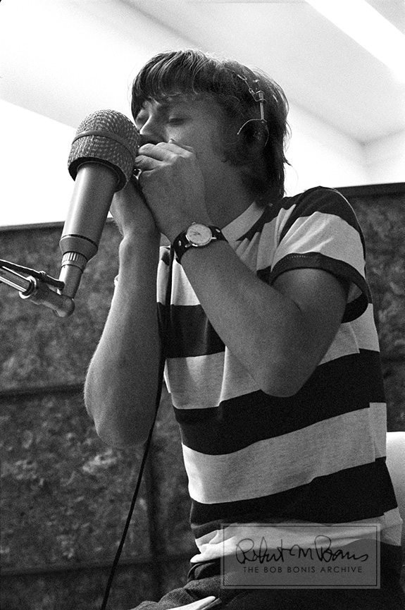 Mick Jagger With Harmonica, RCA Studios, Hollywood, CA, May 18-19, 1965 #2