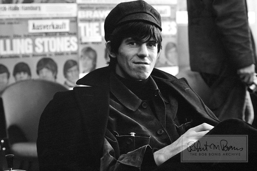 Keith Richards, Bild Zeitung Luncheon, Hamburg, West Germany, September 13, 1965 #1