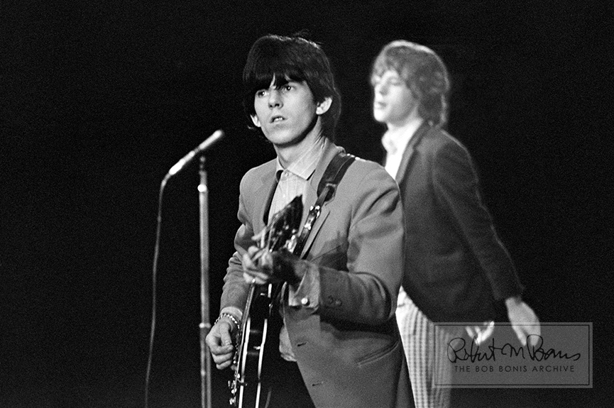 Mick Jagger and Keith Richards,  Fourth US Tour, October 29 - December 6, 1965 #1