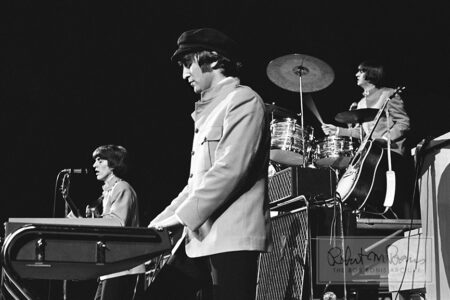 John Lennon, George Harrison, Ringo Starr, Memorial Coliseum, Portland, OR, August 22, 1965 #1