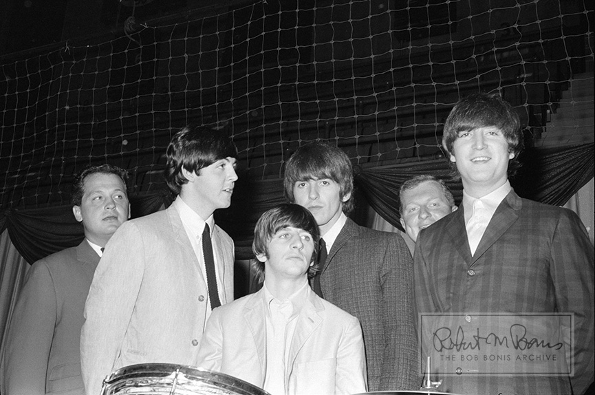 The Beatles, Prewss Conference, Maple Leaf Gardens, Toronto, Canada, September 7, 1964 #2
