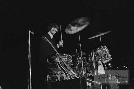 Ringo Starr, Metropolitan Stadium, Bloomington, MN, August 21, 1965 #1