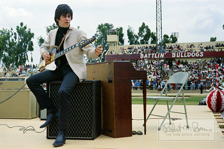 Keith Richards, Fresno, CA, May 22, 1965 #1