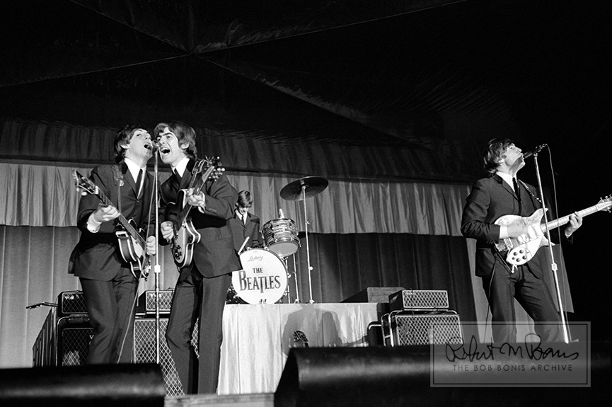 The Beatles On Stage Kansas City MO September 17 1964 3